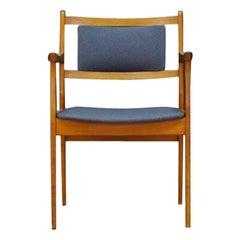 1960s Armchair Teak Vintage Retro Danish Design Gray