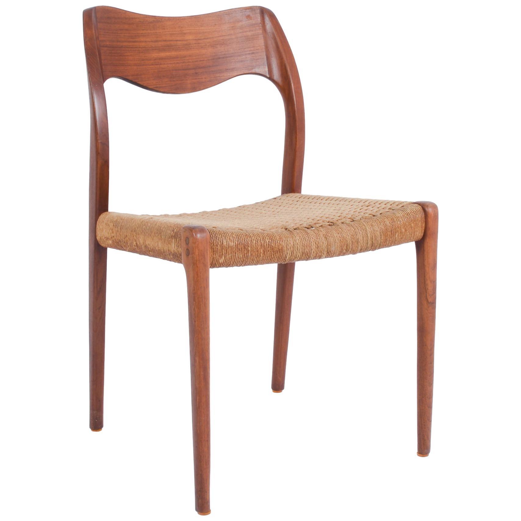 1960s Arne Hovmand-Olsen Captain's Chair