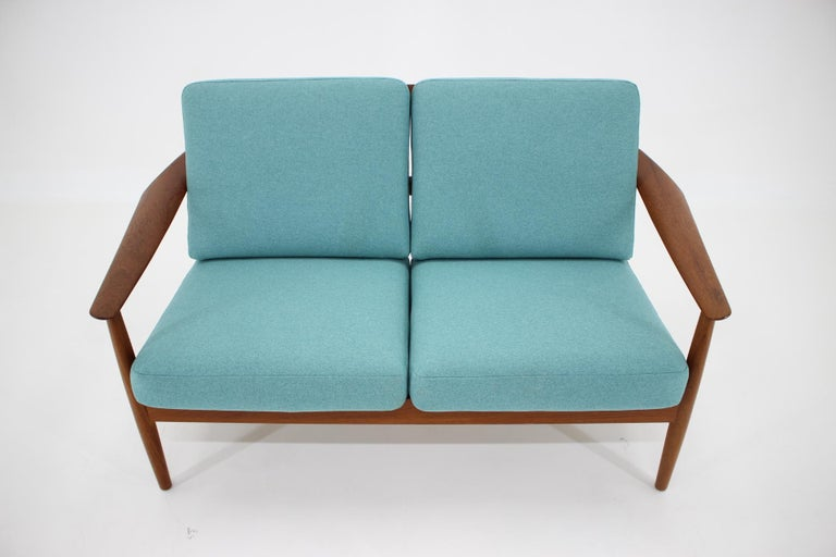 Danish 1960s Arne Vodder 2-Seat Sofa for France & Søn, Denmark