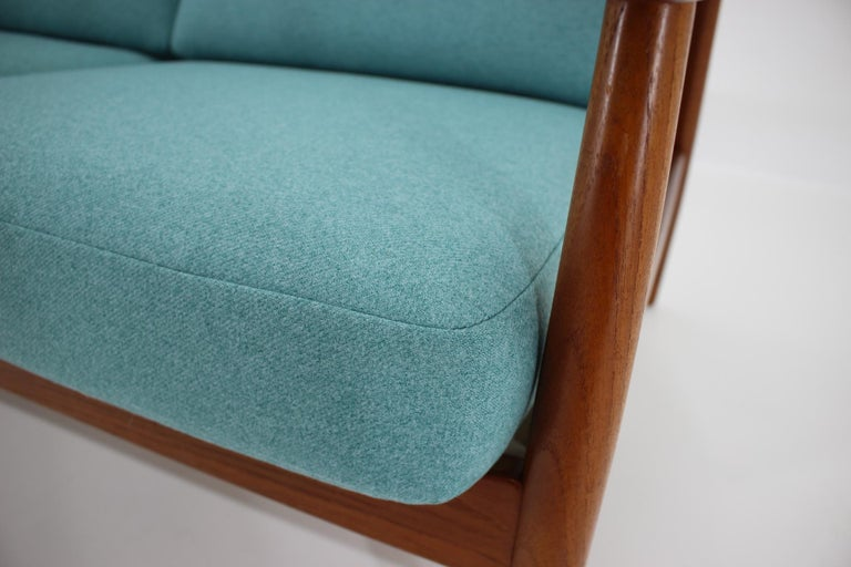 Mid-20th Century 1960s Arne Vodder 2-Seat Sofa for France & Søn, Denmark