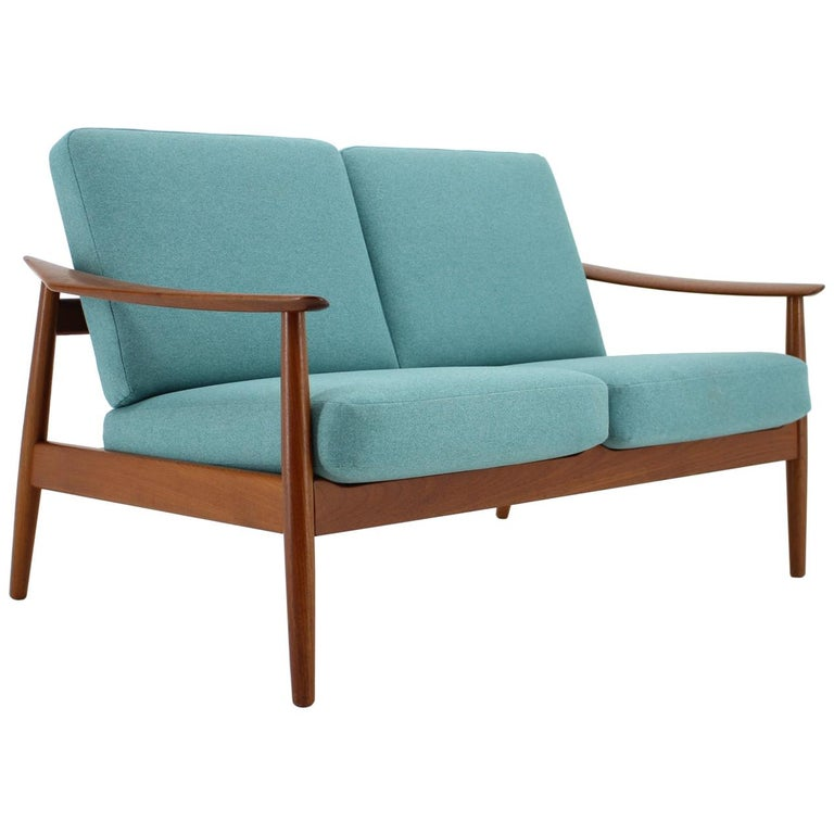 1960s Arne Vodder 2-Seat Sofa for France & Søn, Denmark
