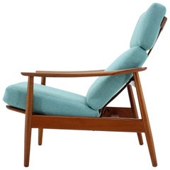 1960s Arne Vodder Adjustable Armchair for France & Søn, Denmark