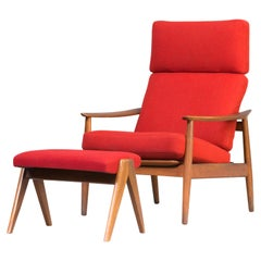 1960s Arne Vodder Easy Chair Fauteuil for France & Søn