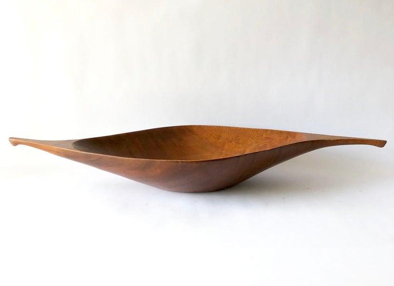 Mid-Century Modern 1960s Arthur Umanoff for Raymor Haitian Wood Handled Bowl For Sale