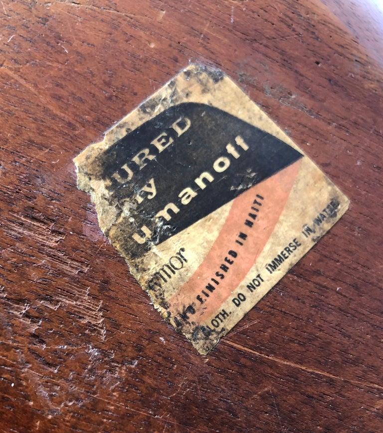 Mid-20th Century 1960s Arthur Umanoff for Raymor Haitian Wood Handled Bowl For Sale