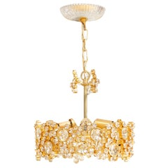 1960s Austrian Chandelier by Hans Harald Rath for J.L. Lobmeyr