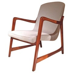 1960s Barbara Fenrych Lounge Chair