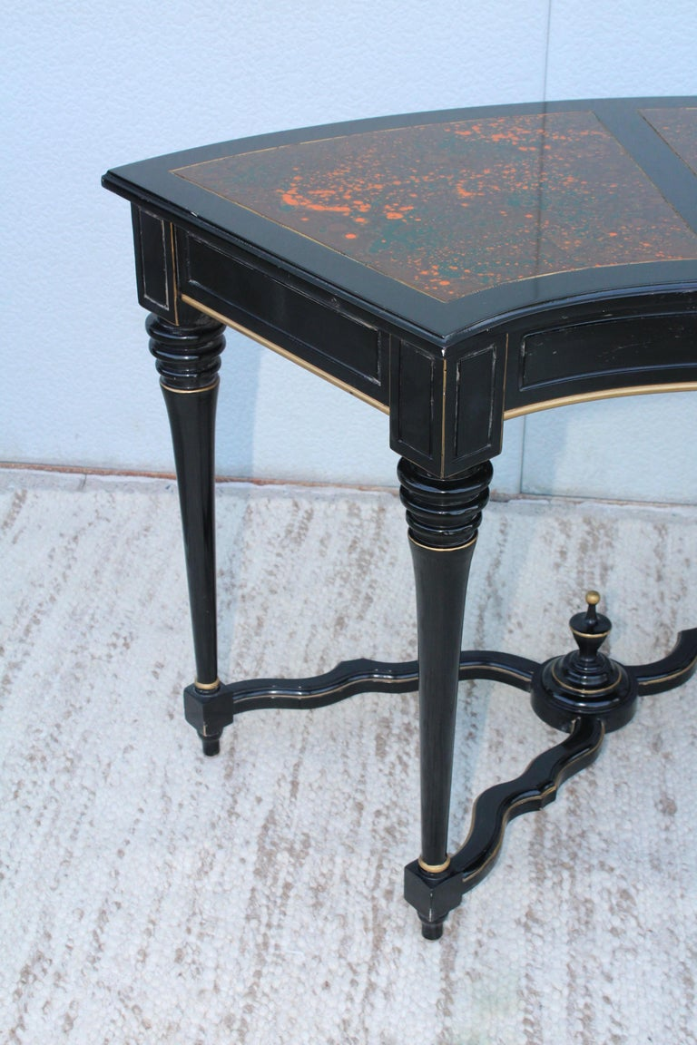 1960s Baroque Style Desk For Sale 1