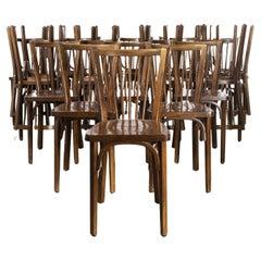 1960's Baumann Bentwood Classic Stickback Bistro Chair, Set of Twenty Four