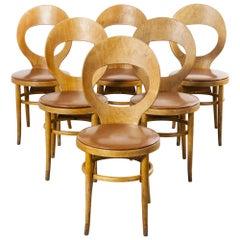 1960s Baumann Dining Chair, Mouette, Set of Six