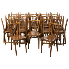 1960's Baumann French Bentwood Classic Bistro Dining Chair - Various Quantities