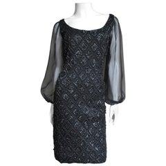 1960s Beaded Dress