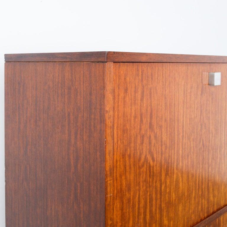 1960s Belgian Teak Secretary Cabinet by Alfred Hendrickx For Sale 3