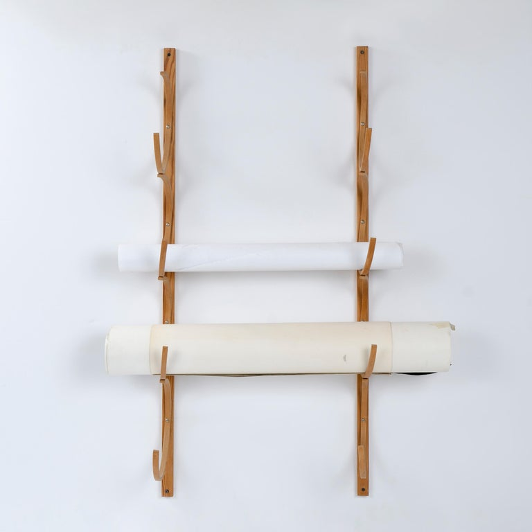 Hand-Crafted 1960s Bentwood Drawing Rack by Alvar Aalto for Artek For Sale