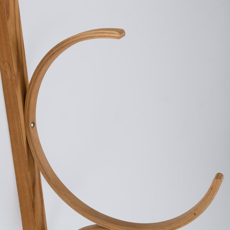 Mid-20th Century 1960s Bentwood Drawing Rack by Alvar Aalto for Artek For Sale