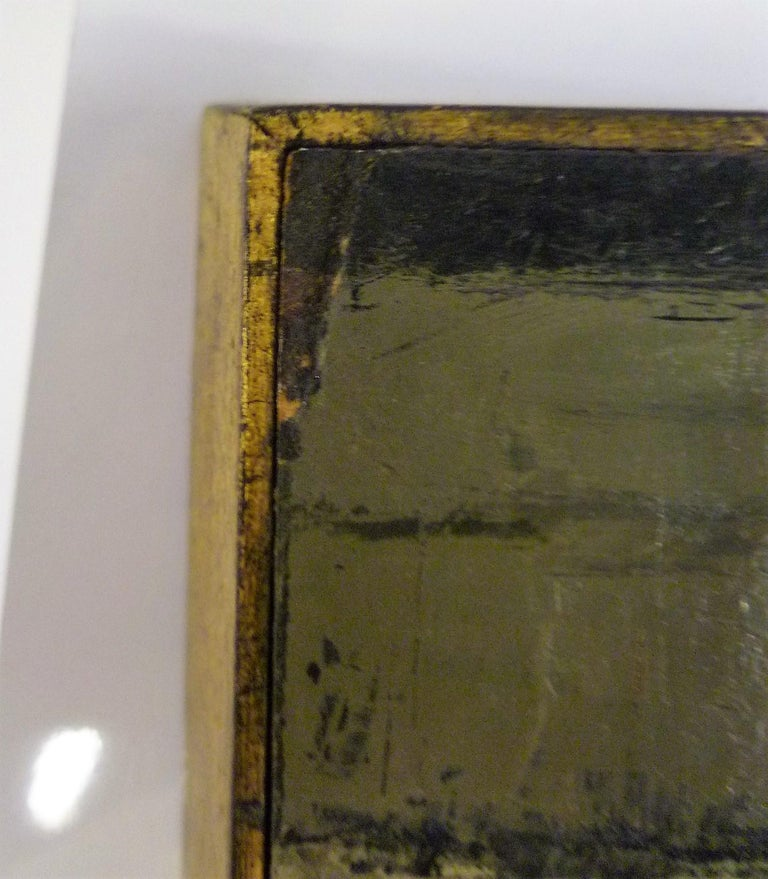 1960s Bert Pumphrey Framed Oil on Board Dos Damas, Mexico Framed Painting For Sale 4
