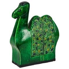 1960s Bitossi Camel Sculpture by Aldo Londi