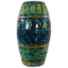 1960s Bitossi Style Italian Pottery Vase