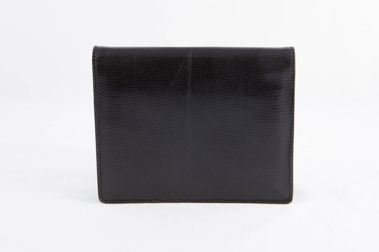 1960s Black Evening  Bag In Excellent Condition For Sale In Paris, FR