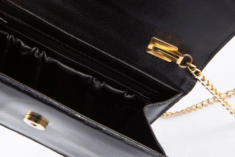 Women's 1960s Black Evening  Bag For Sale