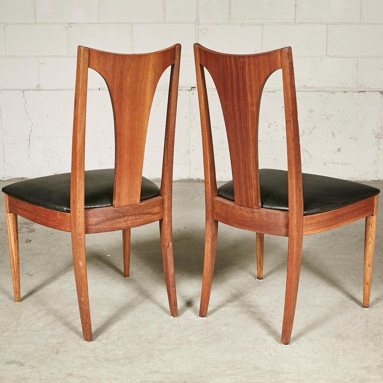 20th Century 1960s Brasilia-Style Dining Chairs, Set of 4 For Sale