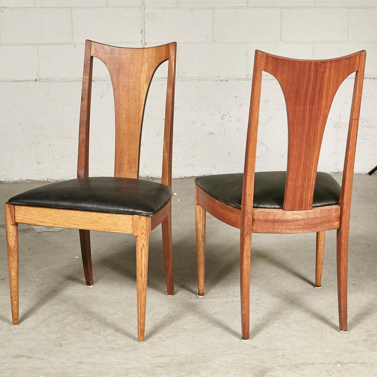 1960s Brasilia-Style Dining Chairs, Set of 4 For Sale 2