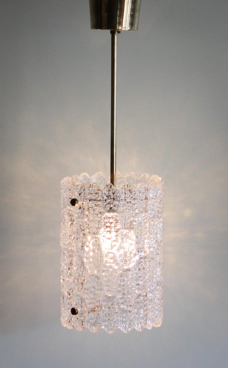 Beautiful pendant designed by Carl Fagerlund for Orrefors Sweden.