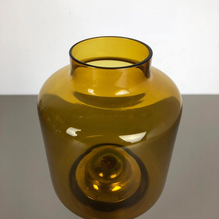 1960s Brass and Glass