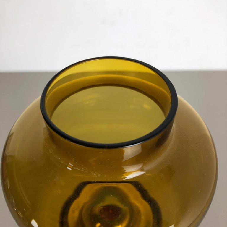20th Century 1960s Brass and Glass