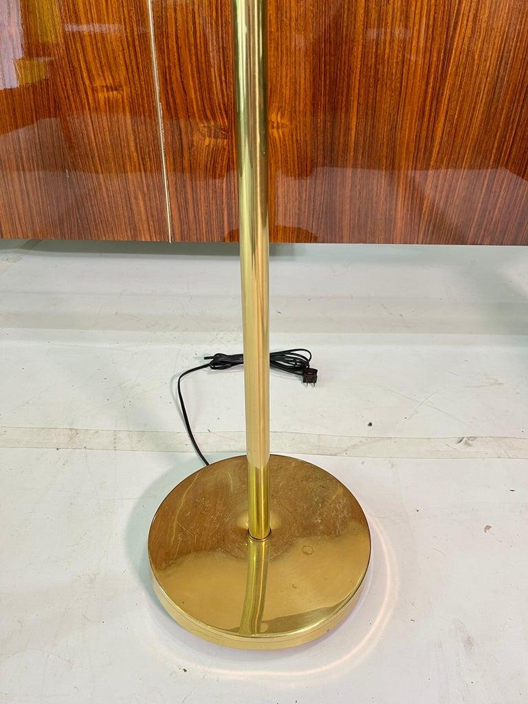 1960's Brass Sputnik Floor Lamp For Sale 1