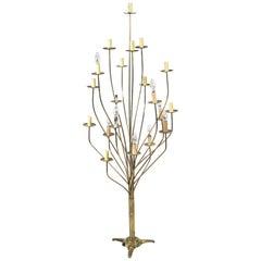 1960s Brass Tall Lamp