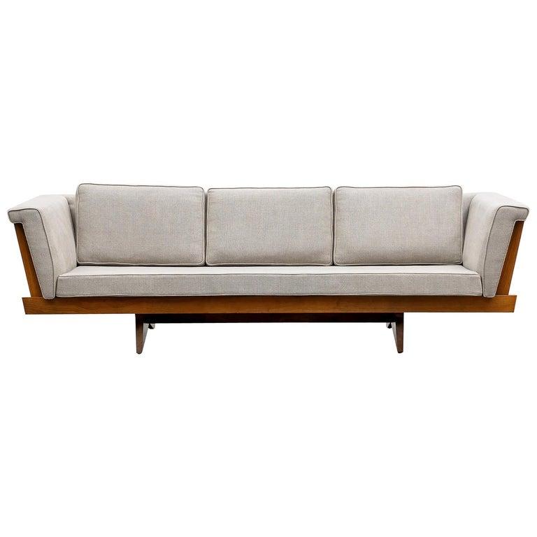 George Nakashima sofa, 1960, offered by Frank Landau
