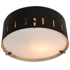 1960s Bruno Gatta Wall or Ceiling Light for Stilnovo