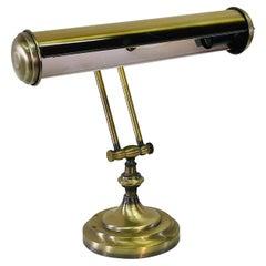 1960s Brushed Brass Desk Lamp