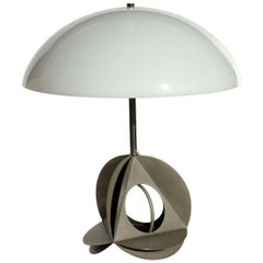 1960s by Bruno Munari Italian Design Sculpture Table Lamp