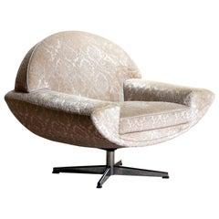 """1960s """"Capri"""" Swivel Easy / Lounge Chair by Johannes Andersen for Trensum"""