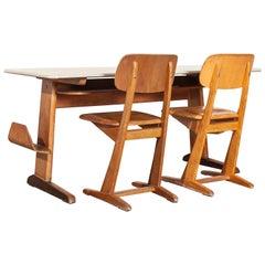 1960s Casala Children's Desk and Chair Set