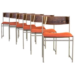1960s Cees Braakman 'Sm08' Dining Chairs for Pastoe Set/6