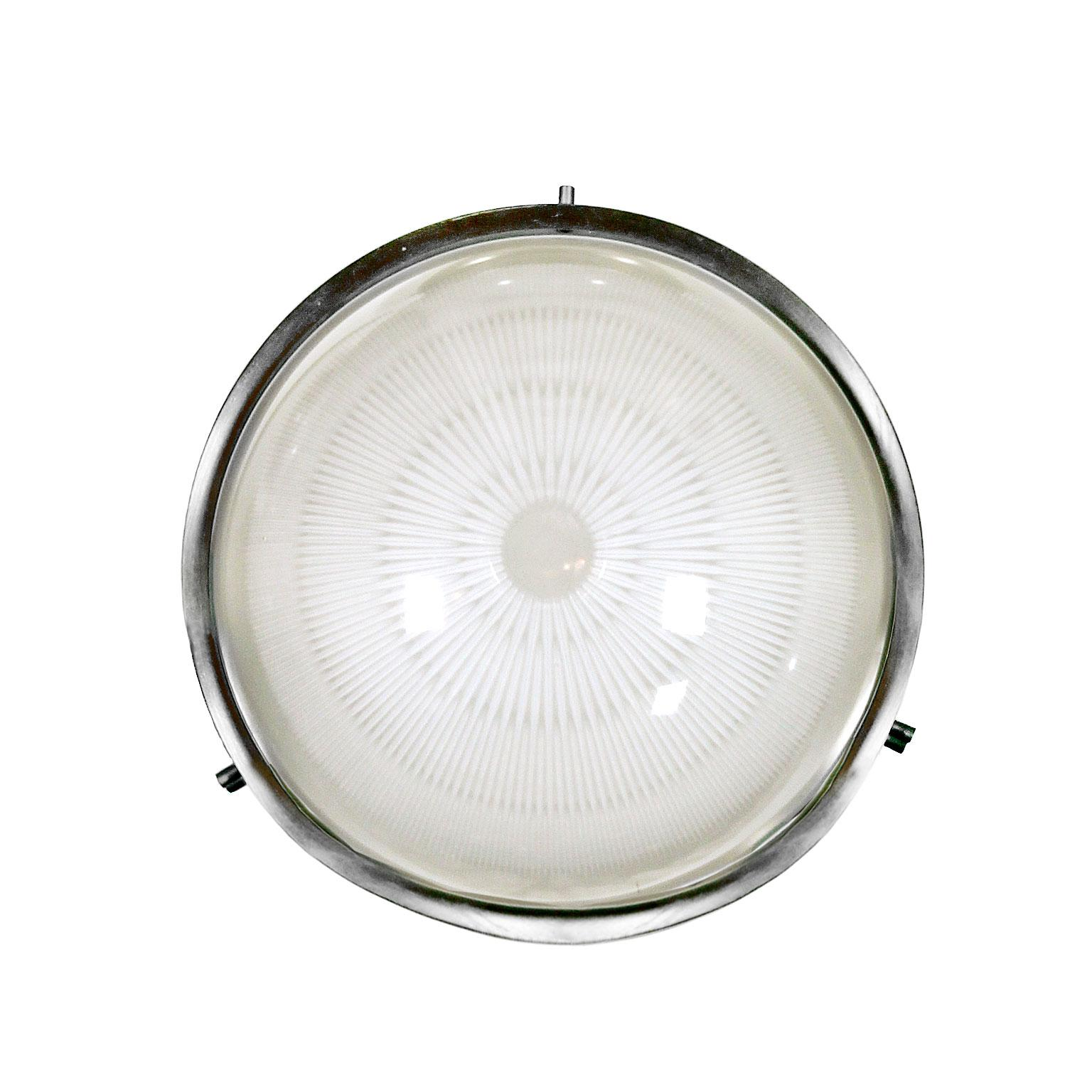 """1960s Ceiling or Wall Light """"Sigma"""" by Sergio Mazza for Artemide, Italy"""