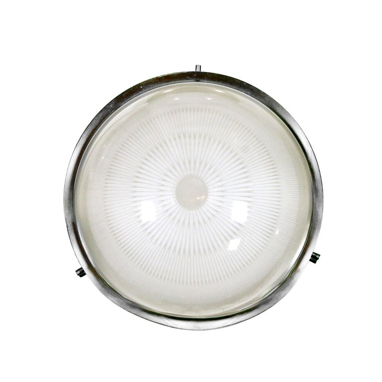 "1960s Ceiling or Wall Light ""Sigma"" by Sergio Mazza for Artemide, Italy For Sale"