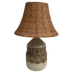 1960's Ceramic Lamp by Giraud from Vallauris
