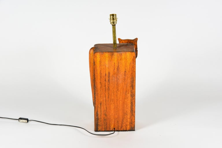 1960s Ceramic Lamp in the Style of Roger Capron For Sale 2