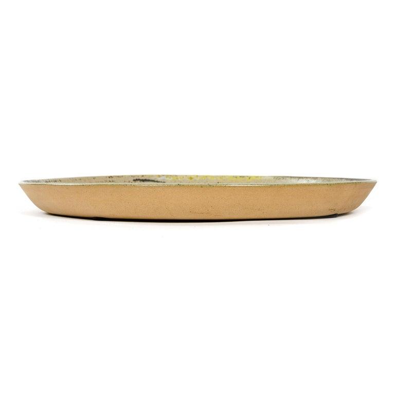 American 1960s Ceramic Platter by Gordon & Jane Martz for Marshall Studios For Sale