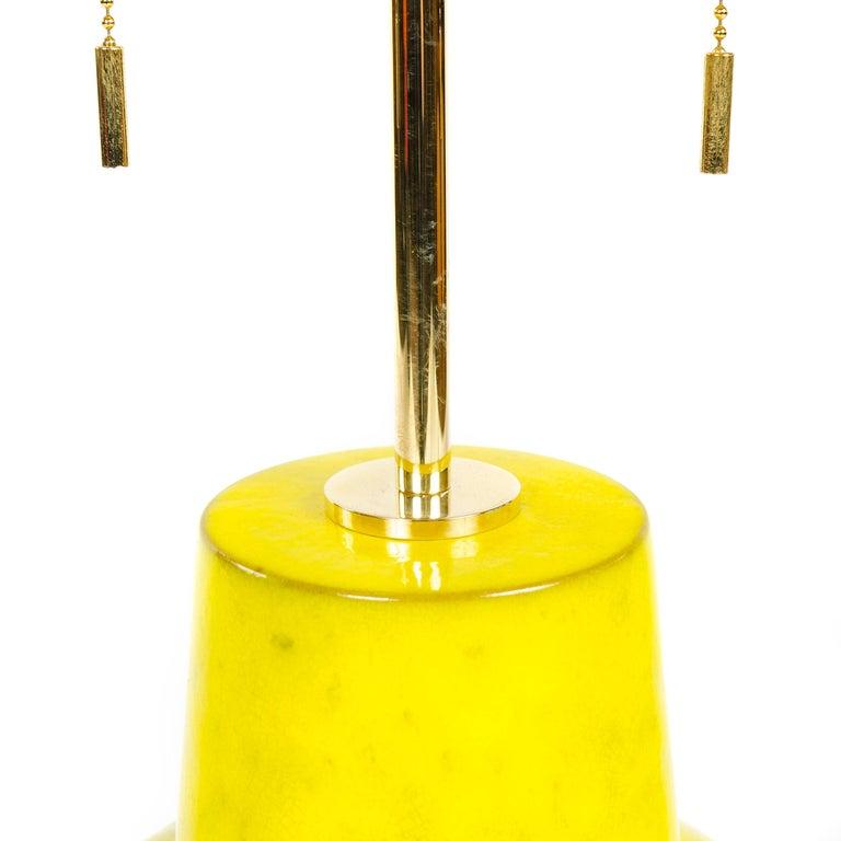 American 1960s Ceramic Table Lamp by Lee Rosen for Design Technics For Sale