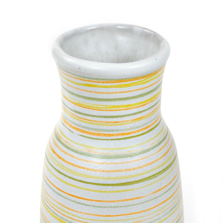 1960s Ceramic Vase by Lee Rosen for Design Technics In Good Condition For Sale In Sagaponack, NY