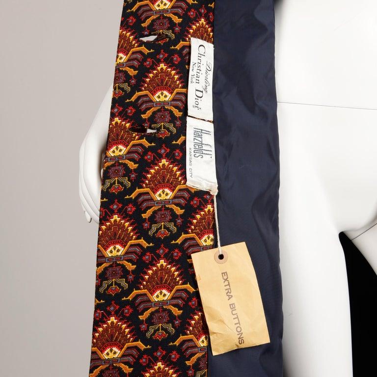 Rare unworn 1960s Christian Dior