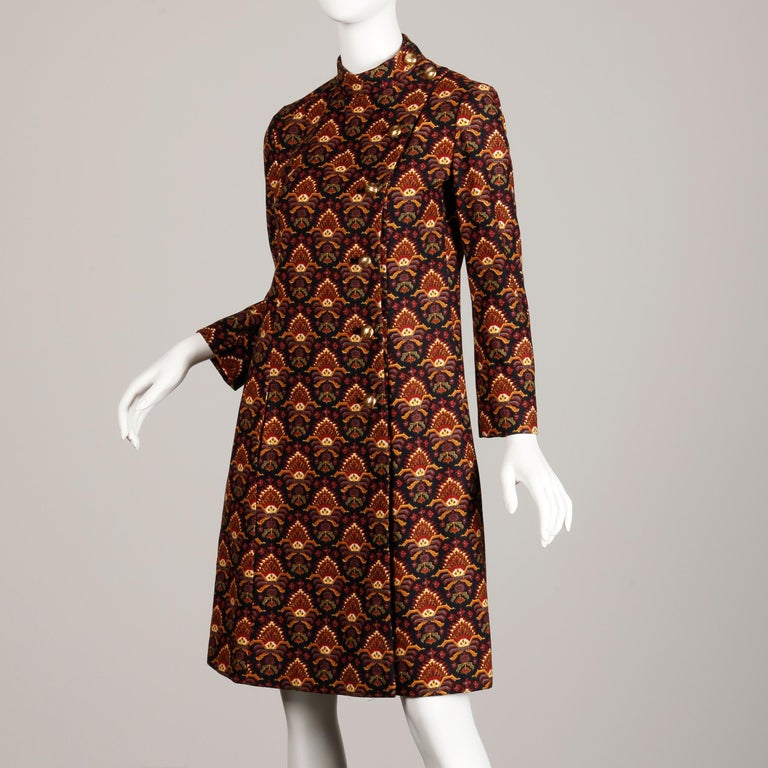 1960s Christian Dior Vintage Coat 1
