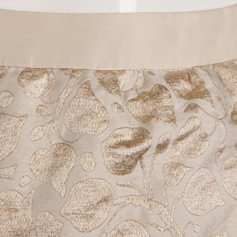 1960s Christian Dior Vintage Silk + Mink Fur Dress Ensemble (Top/ Skirt/ Jacket) For Sale 4