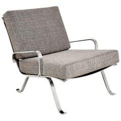 1960s Chrome Vintage Armchair