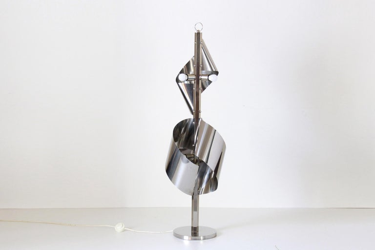 Mid-Century Modern 1960s Vintage Floor Lamp by Reggiani For Sale